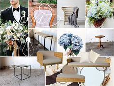Romantic meets modern wedding insperation