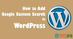 Hello, guys, Adding Google custom search widget in WordPress site can improve your blog search page. Previous i have already publishedHow To Create Google Cust(...) Search Page, Blog Search, Google Custom, Volkswagen Logo, Buick Logo, Improve Yourself, Wordpress, Coding, Ads