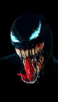All the Marvel and Spiderman fans are eagerly waiting for the release of the Venom movie. Venom's trailer already making fans crazy and, not to forget Funny Venom Memes. We should not expect Venom to fight Thanos Marvel Comics, Marvel Avengers, Marvel Venom, Marvel Art, Marvel Heroes, Superheroes Wallpaper, Avengers Wallpaper, Superhero Wallpaper Iphone, Phone Wallpaper For Men