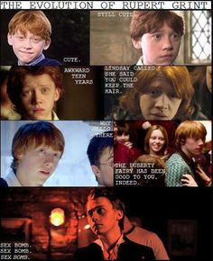 RUPERT GRINT IS THE REASON WHY I AM OBSESSED WITH REDHEADS<3<3 this. is. so. true.