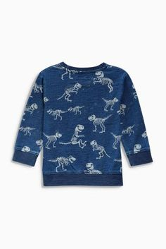 33c354643cfa Buy Navy Dino Crew (3mths-6yrs) online today at Next  Belgium Mikiny