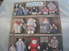 Clothespin Dolls and Darling Dolls Wood & Cloth Books