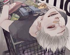 Anime Oc, Fanarts Anime, Art And Illustration, Pretty Art, Cute Art, Anime Boy Zeichnung, Art Sketches, Art Drawings, Wie Zeichnet Man Manga