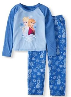 Matching Family Christmas Pajamas Girls 2-Piece Disney's Frozen Sleep Set  #afflink Womens Christmas Pajamas, Matching Family Christmas Pajamas, Best Pajamas, Girls Pajamas, Frozen Outfits, Frozen Clothes, Baby Disney, Disney Frozen, Family Pajama Sets