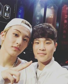 Mark and that jamming jamming guy from School Rapper!