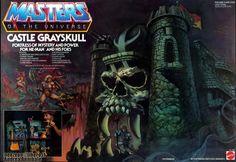 gray skull | Custom MOTUC Castle Grayskull update : PoeGhostal.com