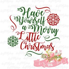 Have yourself a Merry Christmas embroidery design from Christmas collection feel free to decorate pillowcases with this design. Merry Little Christmas, Christmas Svg, Christmas Shirts, Christmas Stencils, Christmas Design, Christmas Printables, Christmas Greetings, Christmas Stuff, Christmas Decorations