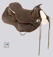 Barefoot Arizona - Treeless Western saddle, I want one for Murphy Currently 669.00 Euros without fenders, stirrups, girth, pad etc.