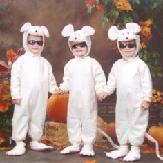 three blind mice costume | three blind mice repinned from kids costumes by krisstin