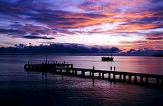 Embarcadero, Rabaul, New Britain del este, Papúa Nueva Guinea, mélanésien