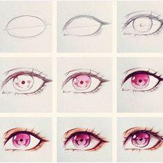 63 New Ideas Drawing Tutorial Anime Eyes Eye Drawing Tutorials, Sketches Tutorial, Drawing Techniques, Art Tutorials, Eye Tutorial, Realistic Eye Drawing, Manga Drawing, Drawing Eyes, Human Eye Drawing