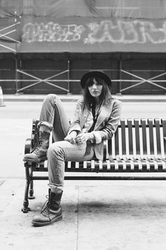 a series inspired by Patti Smith by Michelle Terris in Los Angeles- Fashion Grunge http://fashiongrunge.com/2016/11/29/dead-city-by-michelle-terris/