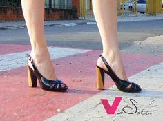 8e45cb4026 Sandália com salto revestido tipo madeira! Ela é maravilhosa!!!  viasalto   sandália  primaveraverao  tendencia  loucasporsapato  valinhos  vinhedo   campinas ...