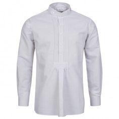 Trachtenhemd Regular Fit mit Riegel in Weiß von Hammerschmid Chef Jackets, Shirt Dress, Fit, Mens Tops, Shirts, Dresses, Fashion, Fashion Show, Chic
