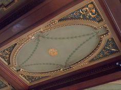 Decorative ceiling at B+B Edinburgh