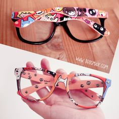 2e7eecb863a Ghibli custom painted wayfarer glasses by bobsmade Kawaii