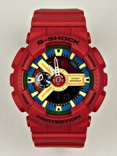 fb8e41977a2 Casio-G-SHOCK Hyper Complex GA-110FC-1AER Watch in red at