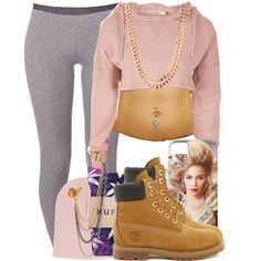 A fashion look from May 2014 featuring Schiesser leggings, HUF socks and Timberland ankle booties. Browse and shop related looks.
