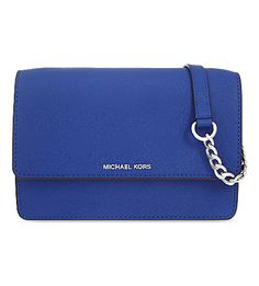 MICHAEL MICHAEL KORS Daniela Small Leather Cross-Body Bag. #michaelmichaelkors #bags #shoulder bags #leather #