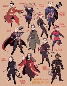 Marvel Ninja AU