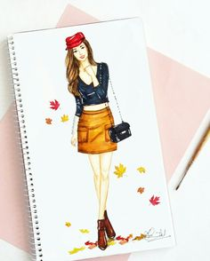 #fashion #fashionblogger #autumn #artwork