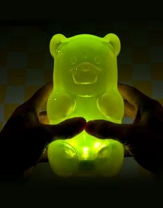 Gummy Bear Lamp. Press the tummy to turn on / off.