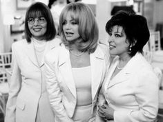 "Goldie Hawn, Bette Midler and Diane Keaton in ""The First Wives Club"", 1996. 3 great actresses!"