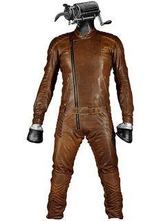 "KALUP* ""Horse"" Slave Moto Leather Suit"