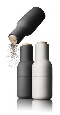 Bottle grinder, Menu.