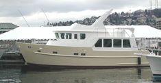 TRAWLER YACHT 48, trawlers, passagemakers, live-aboard, Bruce Roberts, steel boat kits, boat plans, steel kits