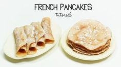 Hi charming guys!Iin this tutorial I'm going to show you how to make miniature polymer clay french pancakes / crepes.I hope you're going to like it! ♥ EXPAND...