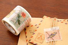 Vintage Stamps Washi Tape  Dekorella Shop http://dekorellashop.hu/ #dekortapasz #washitape #maskingtape