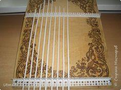 Поделка изделие Плетение Коробок с плетёным дном Продолжаю учиться Идея с удобными стоячками Трубочки бумажные фото 4