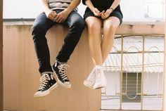 Converse All Star, High Top Converse, Converse Chuck Taylor, Boyfriend Texts, Your Boyfriend, Boyfriend Quotes, Boyfriend Girlfriend, Types Of Kisses, Long Distance Love
