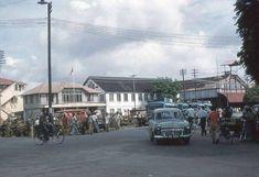 Guyana: Old Georgetown, British Guiana – pictures Bedford Buses, Bedford Van, Main Street, Street View, Traffic Camera, British Guiana, Old Cars, East Coast, Caribbean