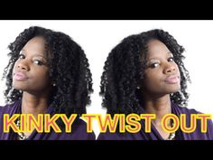 NATURAL HAIR kinky-curly twist n curl w/ Karen's Body Beautiful - YouTube