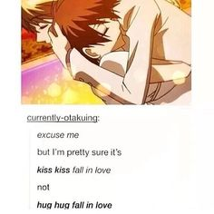 Kiss kiss fall in Love Not huh huh fall in love Ouran high school host club Ouran Host Club, Ouran Highschool Host Club, High School Host Club, Death Note, Manga Comics, Baka To Test, Last Exile, Tamaki, Tokyo Ghoul