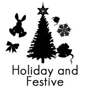 Holiday and Festive Silhouettes