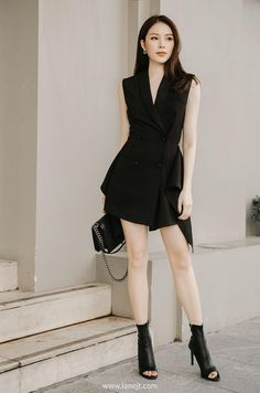 All products are designed and made by Lane JT Blazer Dress, Jumpsuit Dress, Simple Dresses, Elegant Dresses, Beautiful Party Dresses, Smart Dress, Fairytale Dress, Gowns For Girls, Stage Outfits