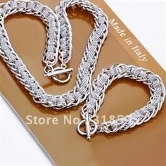 Cheap bracelet sets, Buy Quality bracelet and earring set directly from China bracelet and ring set Suppliers:           Product Details: 925 Sterling SilverCondition: 100% New
