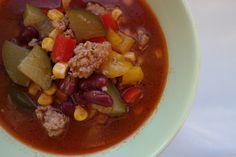 Sunflower - w wolnej chwili...: Zupa z mięsem mielonym