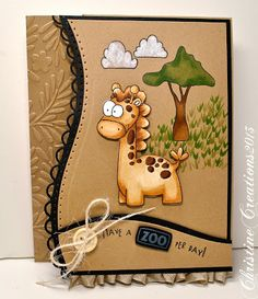 ChristineCreations: A Zoo-per Day
