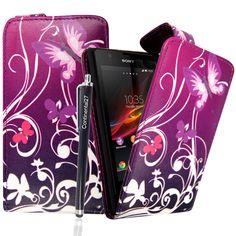 Sony Xperia L flip kožené pouzdro S5 Mini, Sony Xperia, Louis Vuitton Monogram, Pattern, Bags, Handbags, Patterns, Model, Bag