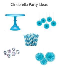 Cinderella Party Ideas with decorations, fun princess games and party favors.  #cinderella #partyideas #princess #favors #decor