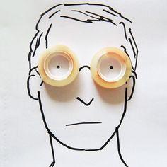 Una cinta no es una cinta ... es un rostro   http://caracteres.mx/una-cinta-es-una-cinta-es-un-rostro/?Pinterest Caracteres+Mx