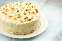 baking = love: Ottolenghi's Apple and Olive Oil Cake with Maple Cream Cheese Frosting