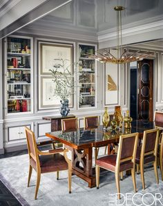 This Art Deco Apartment In Chicago Is All About Personal Style - ELLEDecor.com