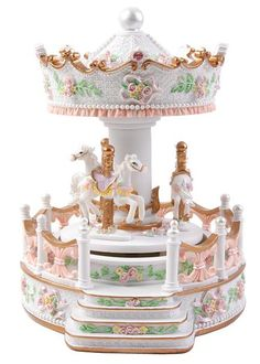 Courtyard carousel music box,merry go round,birthday gift,girlfriend gifts-in Music Boxes from Home & Garden on Aliexpress.com