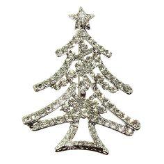Weihnachtsbaumbroschen bei uns im Shop!