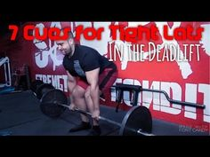 7 Cues for Tight Lats in the Deadlift. - YouTube